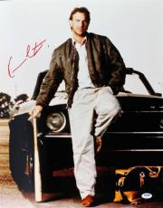 Kevin Costner Bull Durham Signed 16X20 Photo PSA/DNA #U70493
