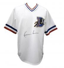 Kevin Costner Durham Bulls Signed/Autographed Jersey PSA/DNA AA36282