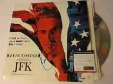 Kevin Costner Movie/music Legend Psa/dna Coa Signed Autograph Jfk Laser Album