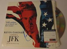 Kevin Costner Movie/music Legend Psa/dna Coa Signed Autograph Jfk Laser Album