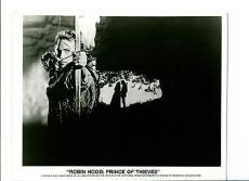 Kevin Costner Robin Hood Prince Of Thieves Movie Original Press Still Photo