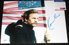Kevin Costner signed 11 x 14, Dances with Wolves, Field of Dreams, PSA/DNA
