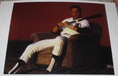 Kevin Costner Signed 11x14 Photo Autograph Bull Durham Field Of Dreams Coa A