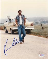KEVIN COSTNER Signed 8 x10 PHOTO w/ PSA/DNA COA