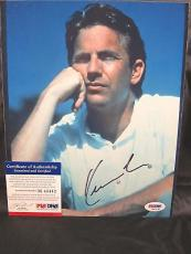 Kevin Costner signed 8x10 autographed photo PSA M43442