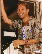 Kevin Costner Signed 8x10 Photo Autograph Psa/dna #s67497