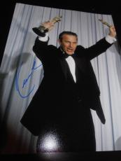KEVIN COSTNER SIGNED AUTOGRAPH 11x14 PHOTO OSCAR TROPHY IN PERSON COA AUTO NY D