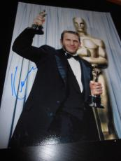 KEVIN COSTNER SIGNED AUTOGRAPH 11x14 PHOTO OSCAR TROPHY IN PERSON COA AUTO NY E