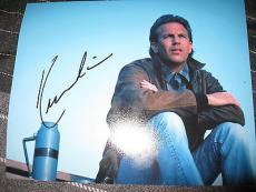 KEVIN COSTNER SIGNED AUTOGRAPH 8x10 PHOTO FIELD OF DREAMS BODYGUARD HOUSTON G