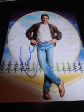 KEVIN COSTNER SIGNED AUTOGRAPH 8x10 PHOTO FIELD OF DREAMS PROMO IN PERSON COA D