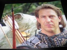 KEVIN COSTNER SIGNED AUTOGRAPH 8x10 PHOTO ROBIN HOOD PROMO IN PERSON COA AUTO D