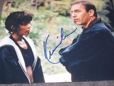 KEVIN COSTNER SIGNED AUTOGRAPH 8x10 PHOTO THE BODYGUARD WHITNEY HOUSTON PROMO D