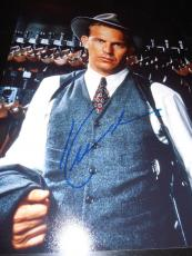 KEVIN COSTNER SIGNED AUTOGRAPH 8x10 PHOTO UNTOUCHABLES IN PERSON COA AUTO NY D
