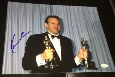 Kevin Costner Signed Autograph Classic Oscars Trophy Rare 11x14 Photo Jsa L74013