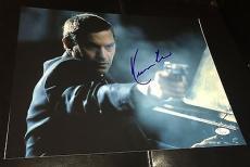 "Kevin Costner Signed Autograph Famous ""the Bodyguard"" Gun 11x14 Photo Jsa L74014"