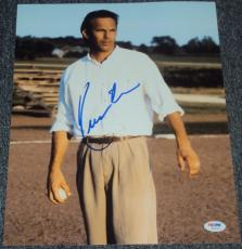 """Kevin Costner Signed Autograph """"tin Cup"""" Classic Roy 11x14 Photo Psa/dna W55725"""
