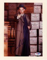 KEVIN COSTNER SIGNED AUTOGRAPHED 8x10 PHOTO ELIOT NESS THE UNTOUCHABLES PSA/DNA