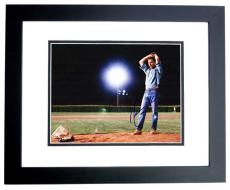 Kevin Costner Signed - Autographed Field of Dreams 11x14 Photo BLACK CUSTOM FRAME