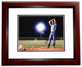 Kevin Costner Signed - Autographed Field of Dreams 11x14 inch Photo MAHOGANY CUSTOM FRAME - Guaranteed to pass PSA or JSA