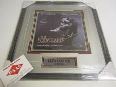 Kevin Costner Signed Autographed Framed Record Album Bodyguard P.a.a.s Certified