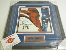 Kevin Costner Signed Autographed Framed Record Album Jfk P.a.a.s Certified Coa
