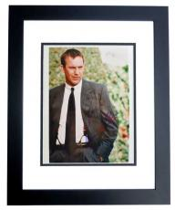 Kevin Costner Signed - Autographed The Bodyguard 8x10 inch Photo - BLACK CUSTOM FRAME - Guaranteed to pass PSA or JSA