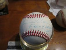 KEVIN COSTNER signed Baseball FIELD OF DREAMS Movie JSA
