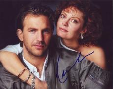 KEVIN COSTNER signed *BULL DURHAM* 8X10 *PROOF* W/COA