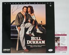 Kevin Costner Signed Bull Durham Laserdisc Jsa Coa E62470