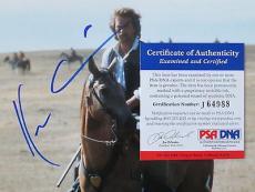Kevin Costner Signed Dances with Wolves Autographed 8x10 Photo PSA/DNA #J64988
