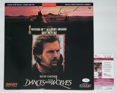Kevin Costner Signed Dances With Wolves Laserdisc Jsa Coa E62468