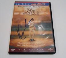 Kevin Costner Signed DVD Cover w/COA For The Love of The Game