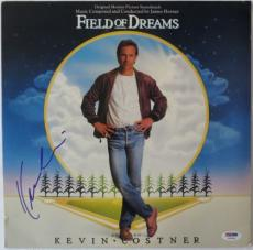 Kevin Costner Signed Field of Dreams Autographed Album Cover PSA/DNA #Y45926