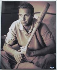 Kevin Costner Signed Field of Dreams Stretched 16x20 Giclee Canvas (PSA/DNA)