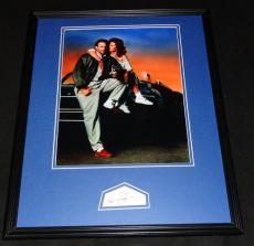 Kevin Costner Signed Framed 16x20 Photo Display JSA Bull Durham