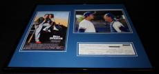 Kevin Costner Signed Framed 16x20 Photo Set Bull Durham JSA