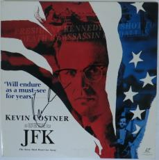 Kevin Costner Signed JFK Authentic Autographed Laserdisc Cover PSA/DNA #X99500