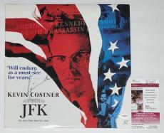 Kevin Costner Signed Jfk Laserdisc Jsa Coa E62471