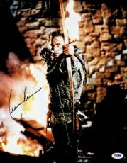 Kevin Costner Signed Robin Hood Authentic Autographed 11x14 Photo PSA/DNA M59095