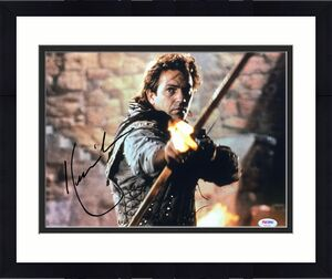 Kevin Costner Signed 'Robin Hood: Prince of Thieves' 11x14 Photo *Robin PSA 7286