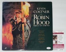 Kevin Costner Signed Robin Hood Prince Of Thieves Laserdisc Jsa Coa E62469