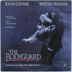 Kevin Costner Signed The Bodyguard Authentic Laserdisc Cover PSA/DNA #X99501