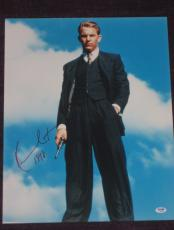 KEVIN COSTNER Signed THE UNTOUCHABLES 16 x 20 PHOTO with PSA COA
