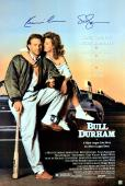 Kevin Costner & Susan Sarandon Autographed Bull Durham 24x36 Movie Poster