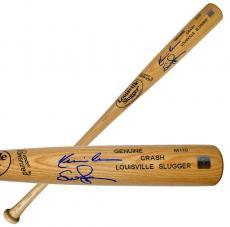 """Kevin Costner & Susan Sarandon Autographed """"Crash"""" Louisville Slugger Baseball Bat"""