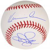 Kevin Costner & Susan Sarandon Autographed MLB Baseball - Beckett COA