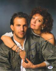 KEVIN COSTNER & SUSAN SARANDON Signed Autograph BULL DURHAM 11x14 Photo PSA/DNA