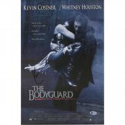 "Kevin Costner The Bodyguard Autographed 12"" x 18"" Movie Poster - BAS"