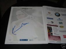 Kevin Costner Tin Cup Jsa Signed Bmw Golf Program