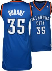 Kevin Durant Oklahoma City Thunder Autographed Blue Replica Jersey
